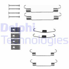 Комплект принадлежности, спирани челюсти LY1343 Jazz 2 (GD_, GE3, GE2) 1.2 i-DSI (GD5, GE2) Г.П. 2002