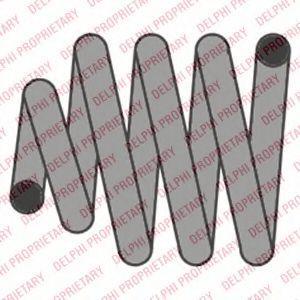DELPHI  SC10050 Fahrwerksfeder Länge: 360mm, Länge: 360mm, Länge: 360mm, Ø: 145mm