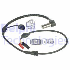 Sensoren VW PASSAT Variant (3B6) 1.9 TDI 130 PS ab 11.2000 DELPHI Sensor, Raddrehzahl (SS20039) für