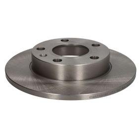 ABE Bremsscheibe C4A016ABE für AUDI A4 (8E2, B6) 1.9 TDI ab Baujahr 11.2000, 130 PS