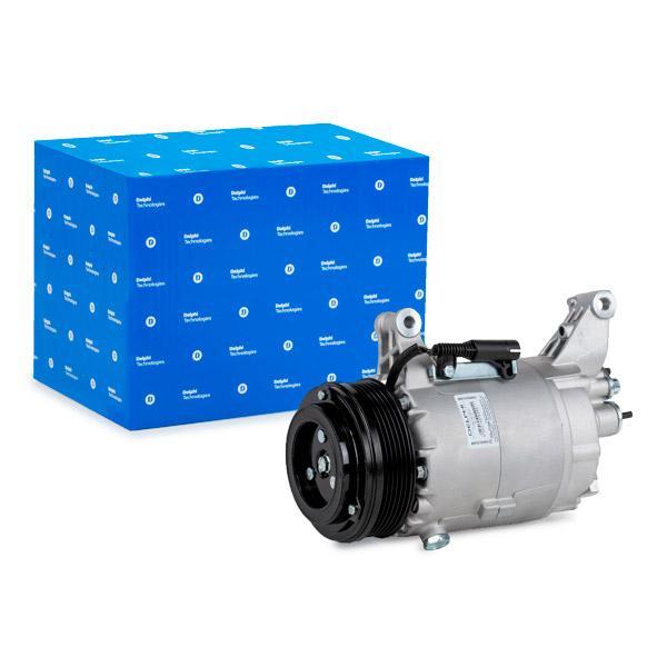 DELPHI  TSP0155308 Compressore, Climatizzatore Puleggia-Ø: 105mm