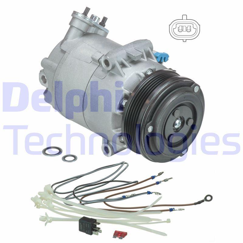 Klimaanlage Kompressor DELPHI TSP0155458 Bewertung