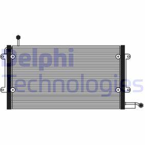 Kondensator, Klimaanlage TSP0225072 Golf 4 Cabrio (1E7) 1.6 Bj 1998