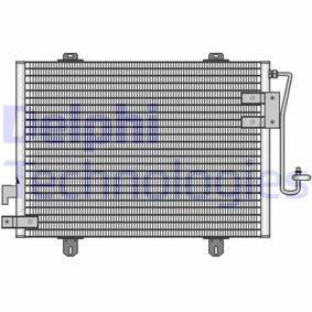 Kondensator, Klimaanlage TSP0225131 CLIO 2 (BB0/1/2, CB0/1/2) 1.5 dCi Bj 2012