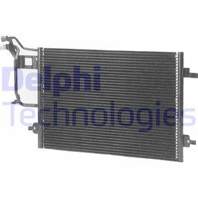 DELPHI Kondensator, Klimaanlage TSP0225184 für AUDI A6 (4B2, C5) 2.4 ab Baujahr 07.1998, 136 PS