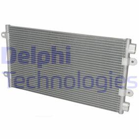 Condenser, air conditioning TSP0225269 PUNTO (188) 1.2 16V 80 MY 2002