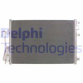 Kondensator, Klimaanlage TSP0225360 CLIO 2 (BB0/1/2, CB0/1/2) 1.5 dCi Bj 2010