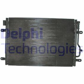 DELPHI Kondensator, Klimaanlage TSP0225406 für AUDI A4 Avant (8E5, B6) 3.0 quattro ab Baujahr 09.2001, 220 PS