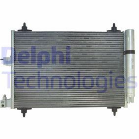 Kondensator, Klimaanlage mit OEM-Nummer 6455-CV