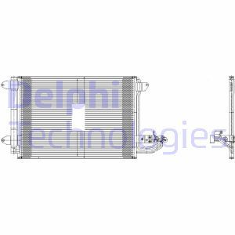 Kondensator Klimaanlage DELPHI TSP0225482 501275936189