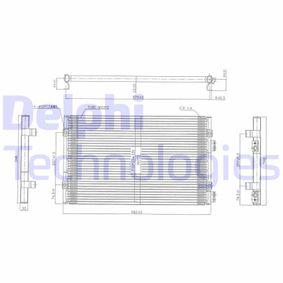 Kondensator, Klimaanlage mit OEM-Nummer 50 935 98A A