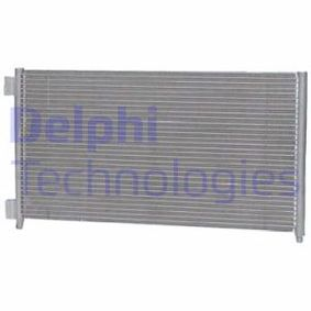 Condenser, air conditioning TSP0225500 PUNTO (188) 1.2 16V 80 MY 2006