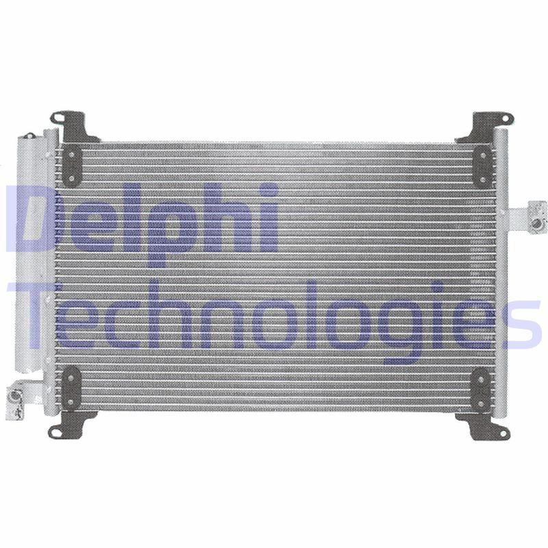 DELPHI  TSP0225517 Kondensator, Klimaanlage
