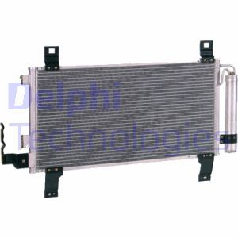 DELPHI  TSP0225528 Kondensator, Klimaanlage