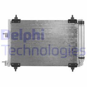DELPHI  TSP0225536 Kondensator, Klimaanlage