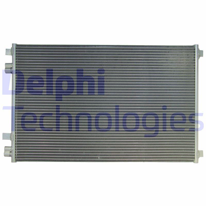 DELPHI  TSP0225541 Kondensator, Klimaanlage