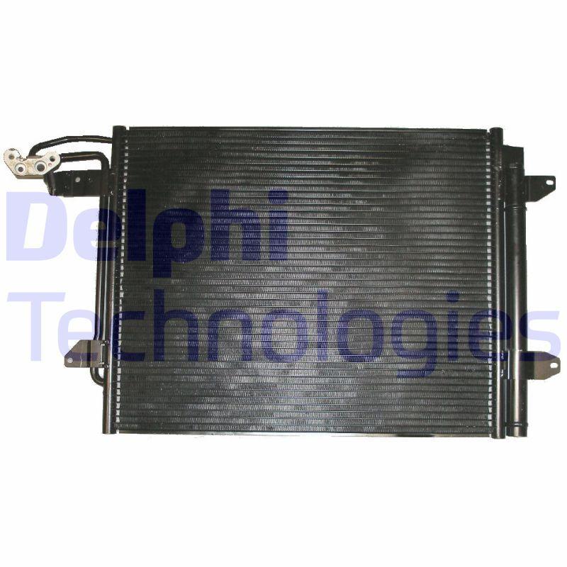 DELPHI  TSP0225543 Kondensator, Klimaanlage