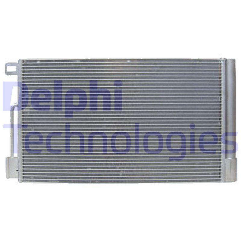 DELPHI  TSP0225552 Kondensator, Klimaanlage