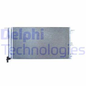 Condenser, air conditioning TSP0225553 PANDA (169) 1.2 MY 2016