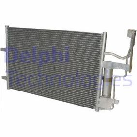 Condensador MAZDA 3 (BK) 1.4 de Año 10.2003 84 CV: Condensador, aire acondicionado (TSP0225561) para de DELPHI