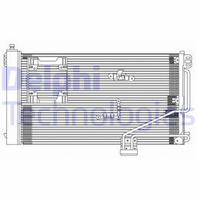 Kondensator, Klimaanlage mit OEM-Nummer A 203 500 13 54