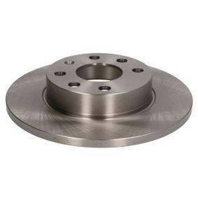 Riemenspanner für OPEL CORSA C (F08, F68) 1.2 75 PS ab Baujahr 09.2000 ABE Bremsscheibe (C3X028ABE) für