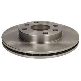 Bremsscheiben für OPEL CORSA C (F08, F68) 1.2 75 PS ab Baujahr 09.2000 ABE Bremsscheibe (C3X029ABE) für