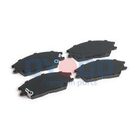 Bremsbelagsatz, Scheibenbremse mit OEM-Nummer 5810124B00