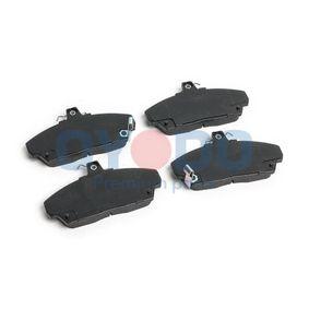 Brake Pad Set, disc brake with OEM Number 45022-SK3-E00