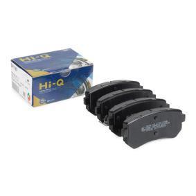 2013 Kia Sportage Mk3 2.0 CRDi AWD Brake Pad Set, disc brake 20H0308-OYO