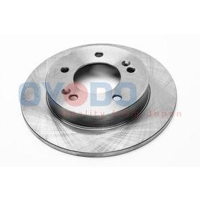 Bremsscheibe Bremsscheibendicke: 10mm, Ø: 258mm, Ø: 258mm mit OEM-Nummer 58411-1P300