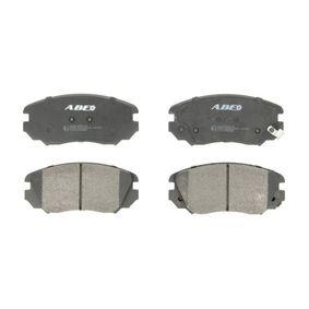 Bremsbelagsatz, Scheibenbremse Breite 1: 59,7mm, Dicke/Stärke 1: 19mm mit OEM-Nummer 16 05 624