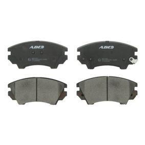 Brake Pad Set, disc brake Article № C1X039ABE £ 140,00