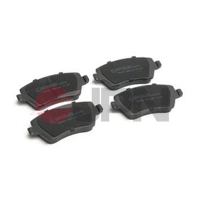 Bremsbelagsatz, Scheibenbremse mit OEM-Nummer 4106 0AX 625
