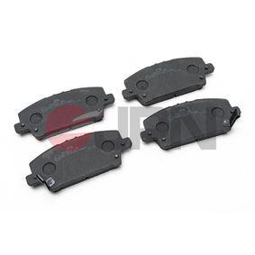 2020 Honda Civic 8th Gen 2.2 CTDi (FK3) Brake Pad Set, disc brake 10H4036-JPN