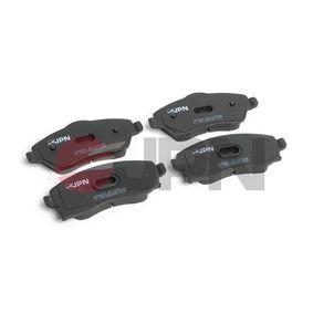 Bremsbelagsatz, Scheibenbremse Höhe 1: 52,8mm, Höhe 2: 55,5mm, Dicke/Stärke: 16,8mm mit OEM-Nummer 93 176 114