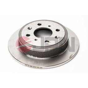 Спирачен диск дебелина на спирачния диск: 10мм, брой на дупките: 4, Ø: 239мм, Ø: 239мм с ОЕМ-номер 42510 SH3-G00