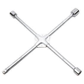 Llave de cruz para rueda de cuatro vías Long.: 350mm 37D313