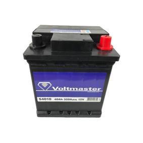 VOLTMASTER Starterbatterie 12V 40Ah 320A Bleiakkumulator
