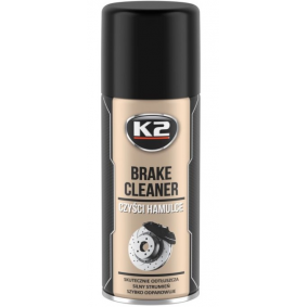 Brake & clutch cleaners K2 W103 for car (Contents: 400ml, Spraycan)
