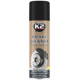 Brake & clutch cleaners K2 W104 for car (Contents: 500ml, Spraycan)