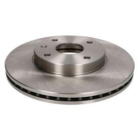 Bremsscheibe Bremsscheibendicke: 24mm, Lochanzahl: 4, Ø: 277,5mm mit OEM-Nummer 96 329 364