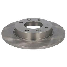 Sensor del Pedal del Acelerador PEUGEOT 307 SW (3H) 1.6 BioFlex de Año 09.2007 109 CV: Disco de freno (C4P007ABE) para de ABE