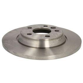 Bremsscheibe Bremsscheibendicke: 13,5mm, Lochanzahl: 5, Ø: 294mm mit OEM-Nummer 7D0 615 601A