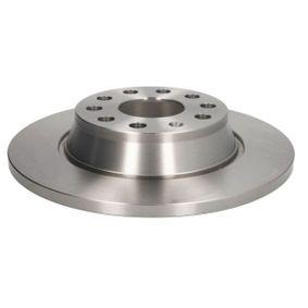 Bremsscheibe Bremsscheibendicke: 12,0mm, Lochanzahl: 9, Ø: 282mm mit OEM-Nummer 1K0 615 601M