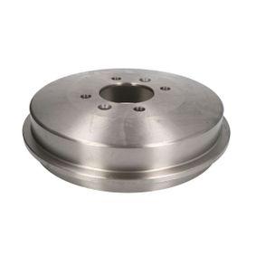 Bremstrommel Ø: 228,5mm, Felge: 4-loch mit OEM-Nummer 424724