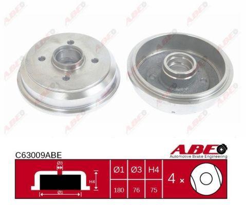 Drum Brake ABE C63009ABE expert knowledge