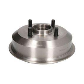 Brake Drum Drum Ø: 180mm, Ø: 180mm, Rim: 4-Hole with OEM Number 6 492 327
