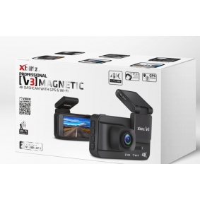 Dash cam Viewing Angle: 150° V3MAGNETIC4K