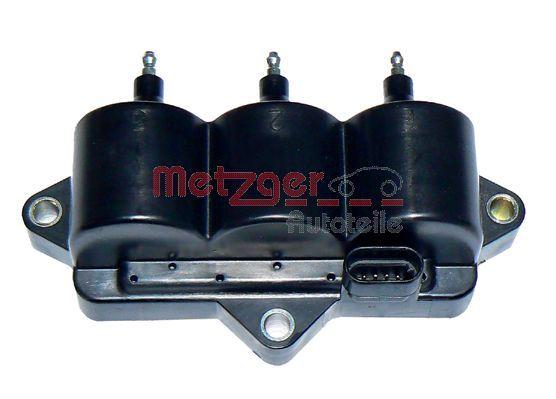 METZGER  0880156 Zündspule Pol-Anzahl: 4-polig